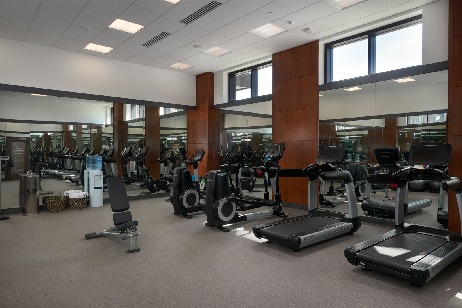 The Merrill Hotel & Conference Center Fitness Center
