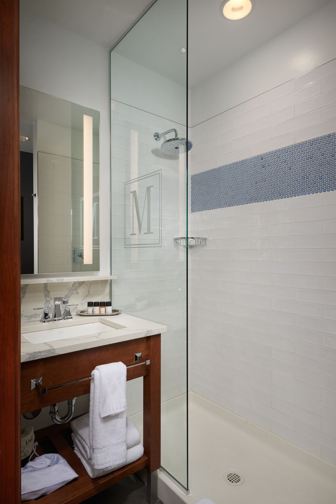 The Merrill Hotel & Conference Center - presidential suite bathroom